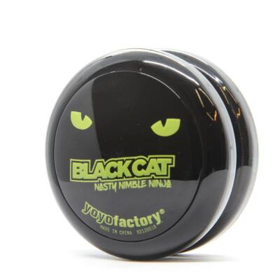 YoYoFactory Spinstar yo-yo, Black Cat