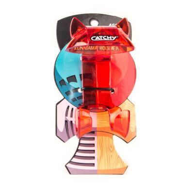 YoYoFactory Catchy Belt Clip áttetsz? piros